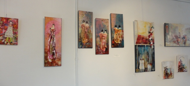 EXPOSITION PEINTURES _ CHANTAL LONGEON