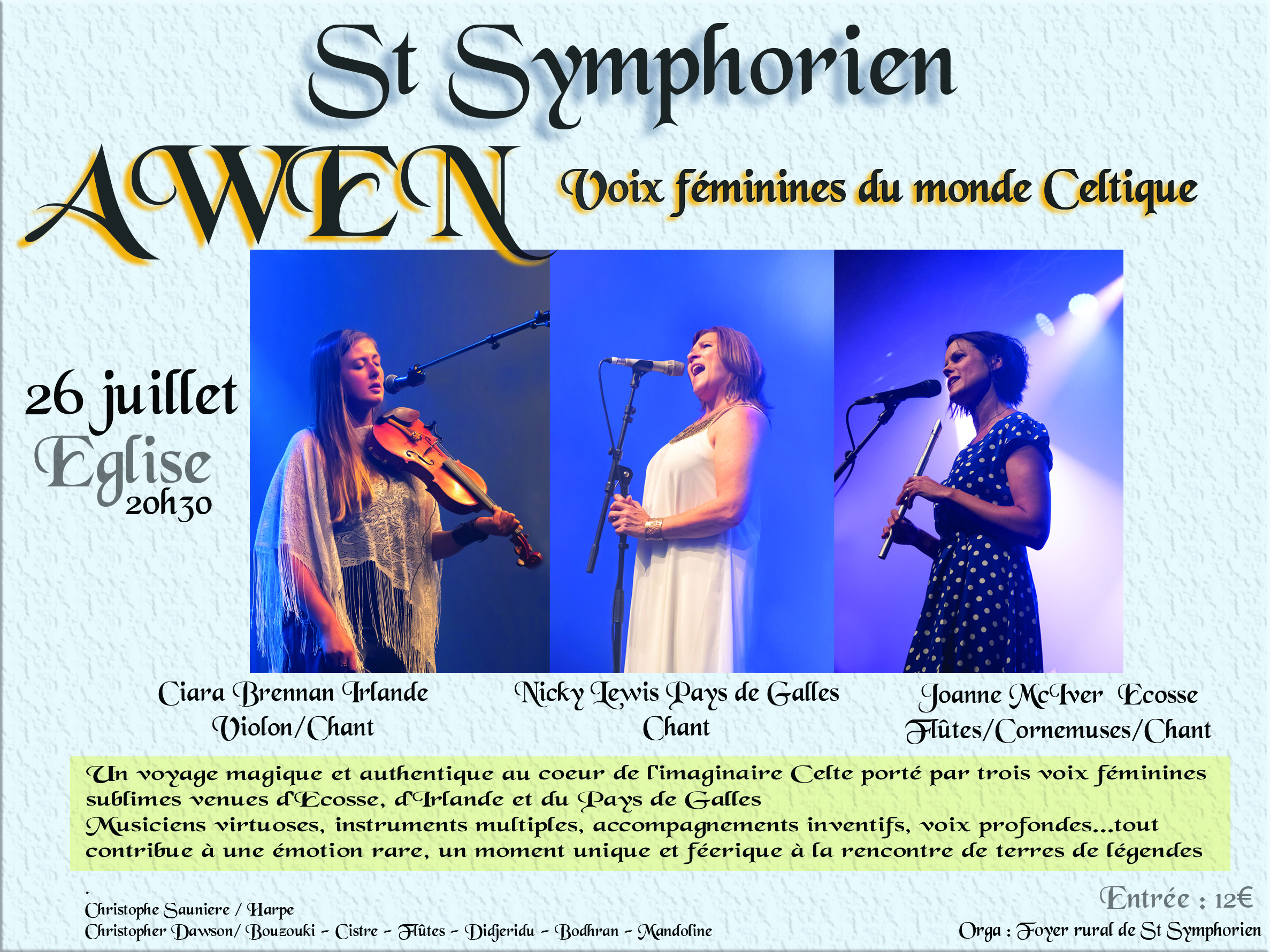 CONCERT CELTIC TOUR - AWEN