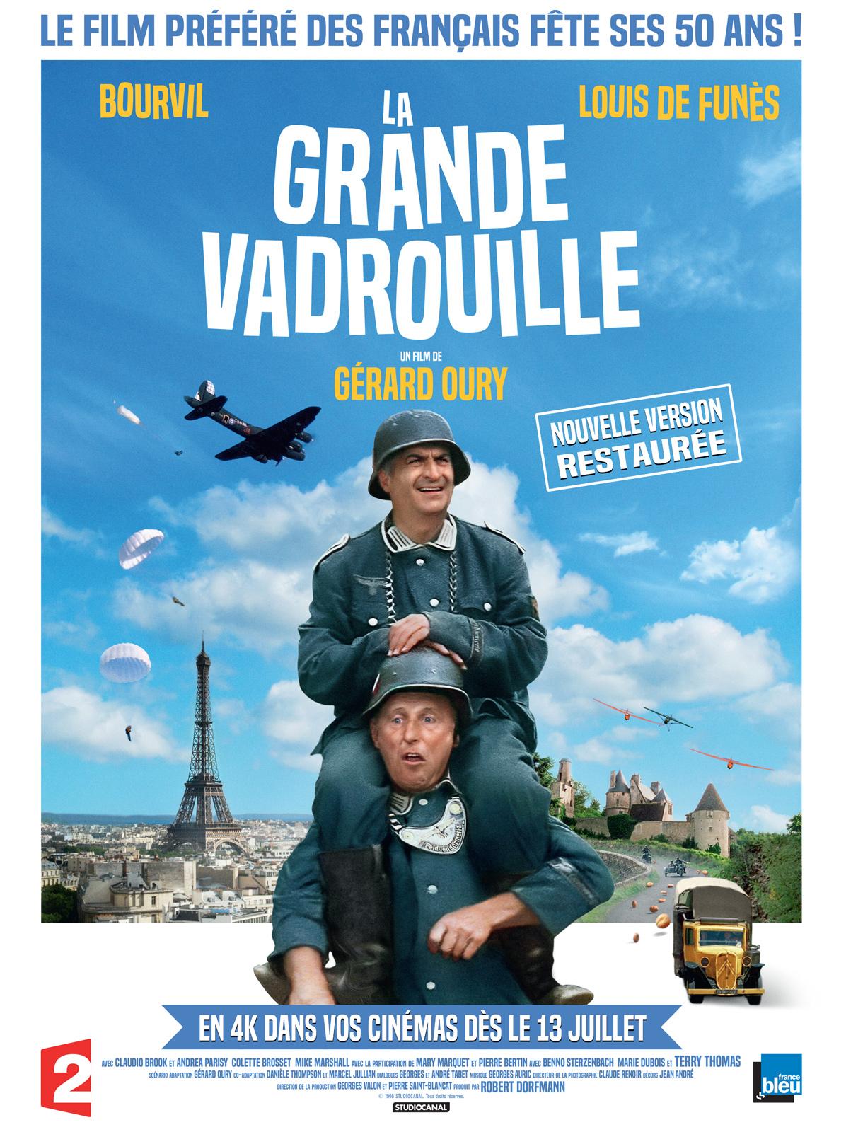 PROJECTION  LA GRANDE VADROUILLE