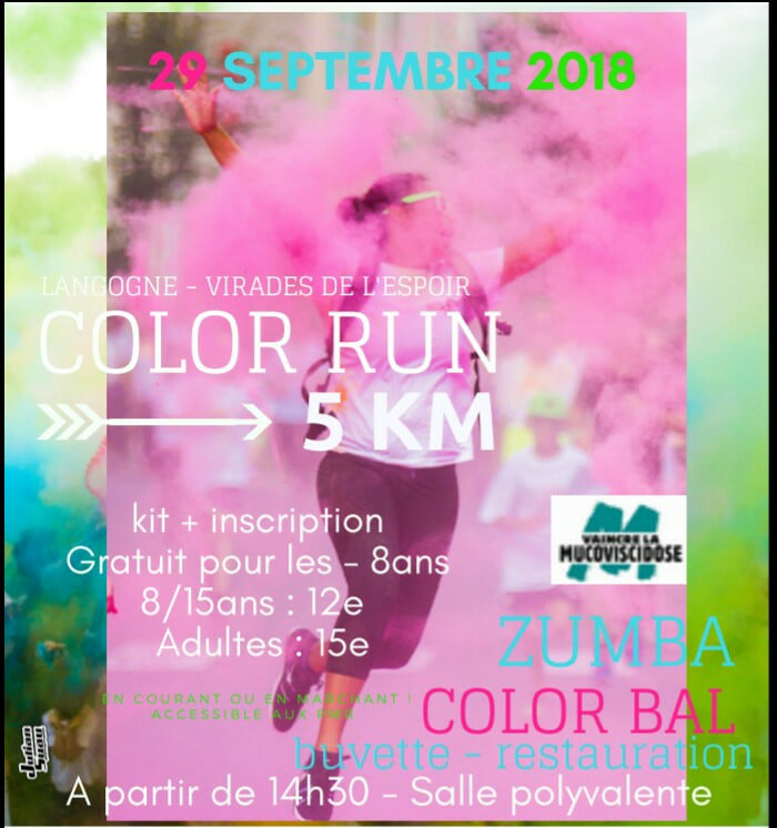 COLOR RUN LANGOGNE